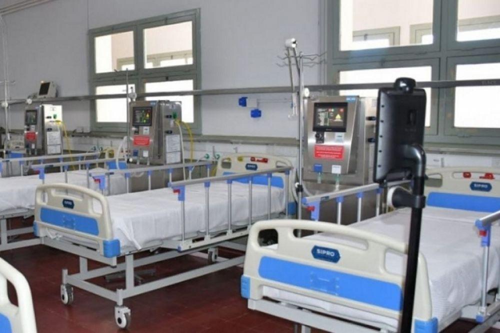 Falleció una persona con COVID-19 en el Hospital de Campaña