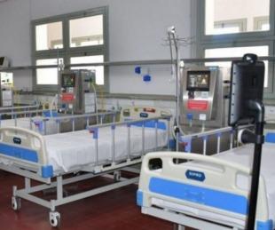foto: Falleció una persona con coronavirus en el Hospital de Campaña