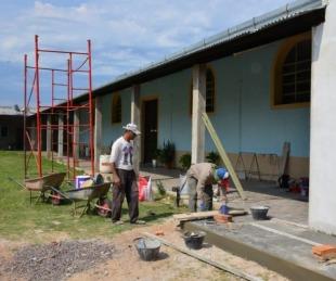 foto: Visita oficial a las obras de ampliación de María Auxiliadora