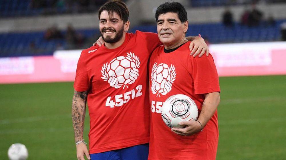 Diego Maradona Junior le dedicó una conmovedora carta a su padre