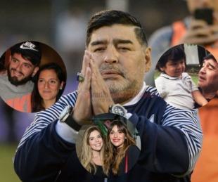 foto: La batalla que se viene por la fortuna incalculable de Maradona