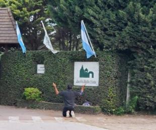 foto: El funeral de Diego: Entre la pasión futbolera y los disturbios