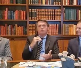 foto: Jair Bolsonaro afirmó que no se vacunará contra el COVID-19