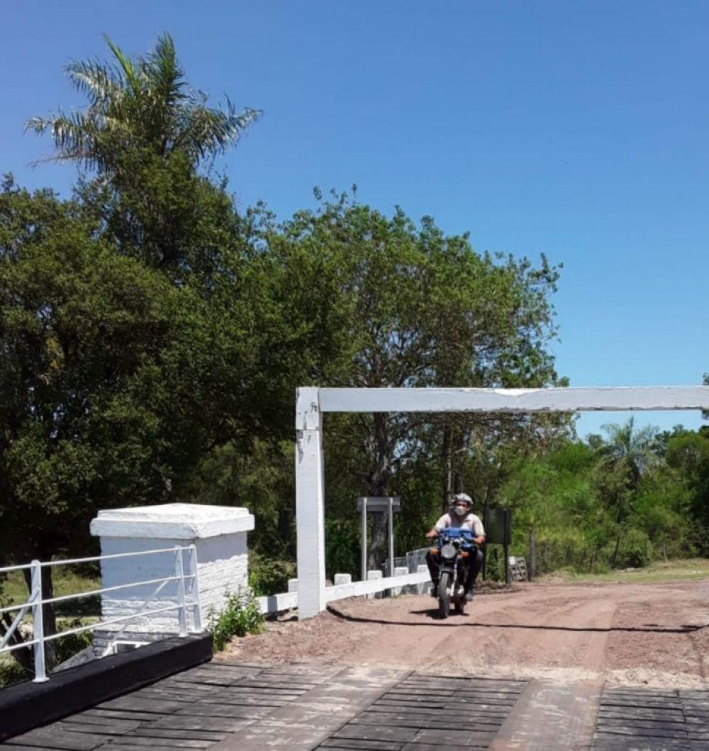 Se habilitó el paso sobre el Puente Pexoa tras las reparaciones