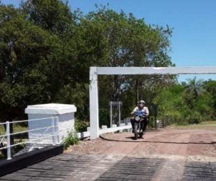 foto: Se habilitó el paso sobre el Puente Pexoa tras las reparaciones