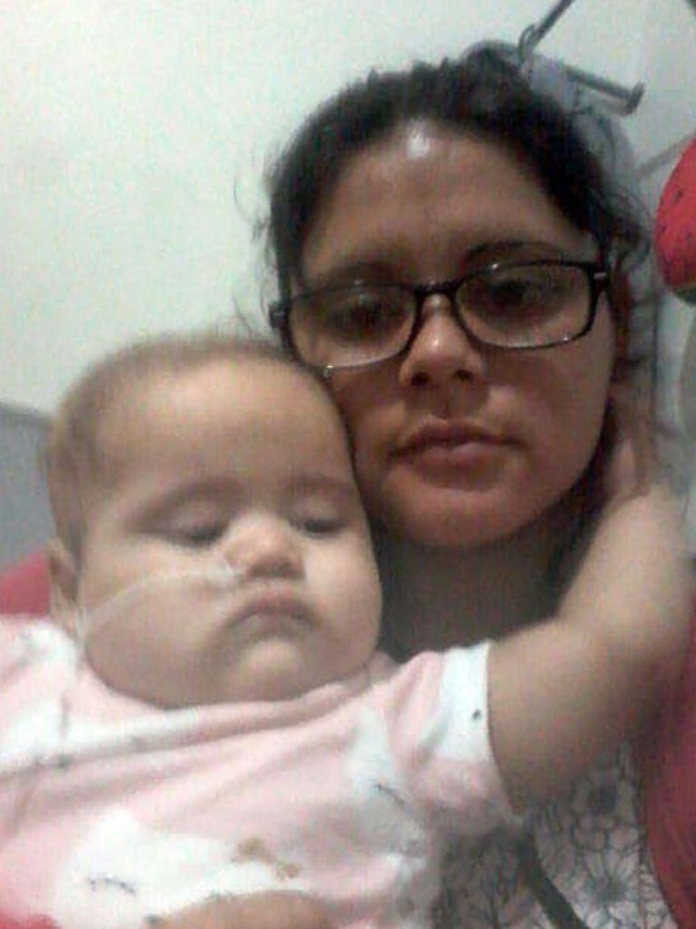 María del Carmen Serna y su hija, Alma, quien falleció el 11 de octubre