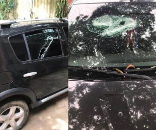 foto: Pareja detenida tras apuñalar a un hombre y romperle el auto