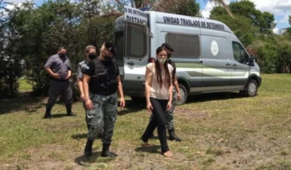 Tras casi tres años detenida, volvió a su casa Angelina Lesieux