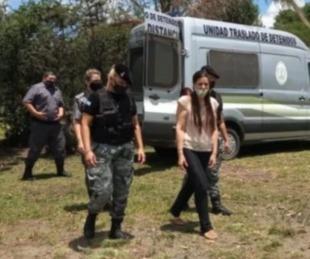 foto: Tras casi tres años detenida, volvió a su casa Angelina Lesieux