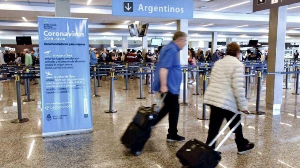 Argentinos que vengan del exterior no serán obligados a aislarse