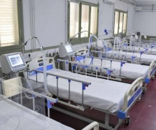 foto: Hospital de Campaña: murió un hombre y ya son 158 las víctimas