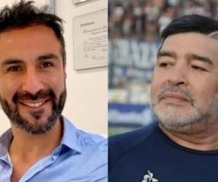 foto: Allanan el domicilio y la clínica del médico de Diego Maradona