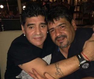 foto: Hugo Maradona contó el doloroso pedido que le hizo Diego unos días antes de morir