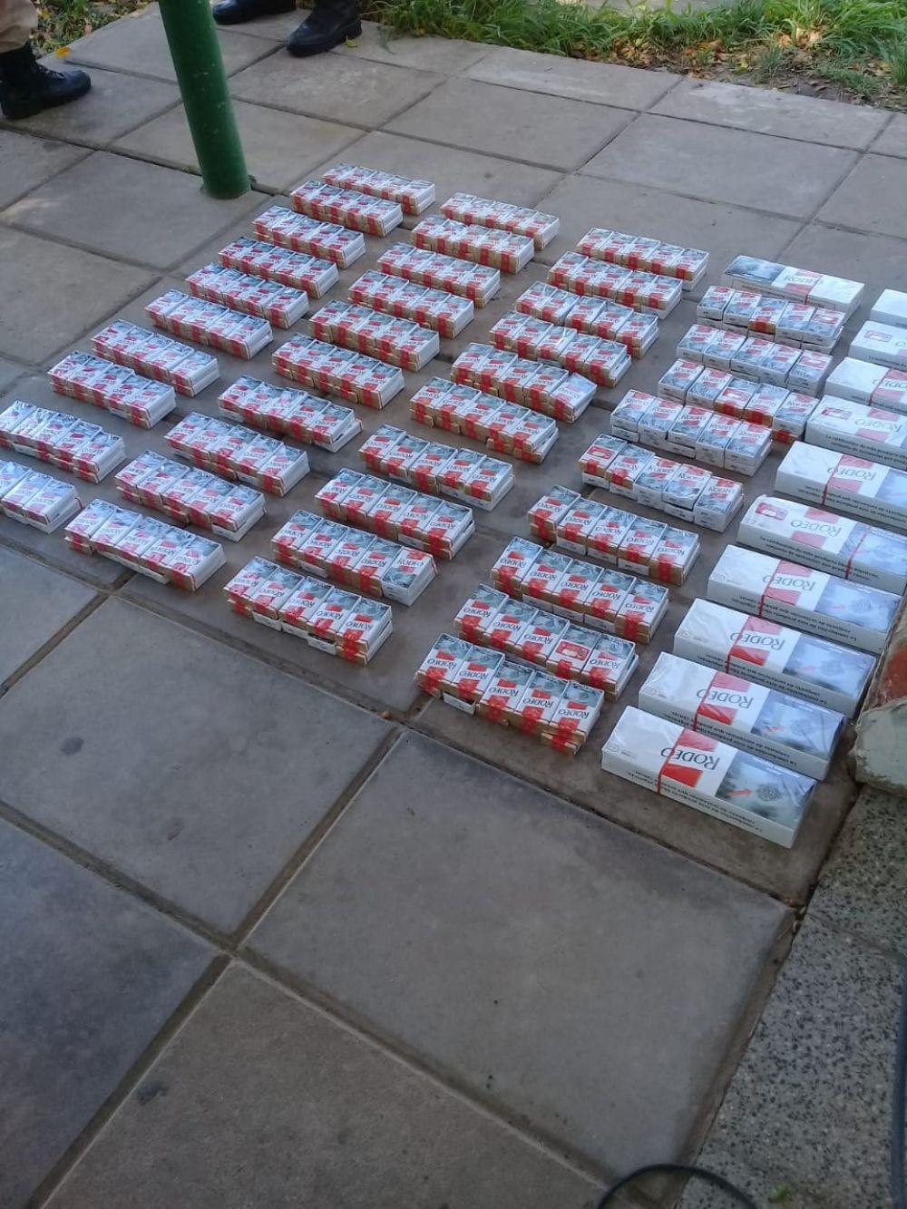 Ruta 12: secuestraron casi 400 paquetes de cigarrillos ilegales