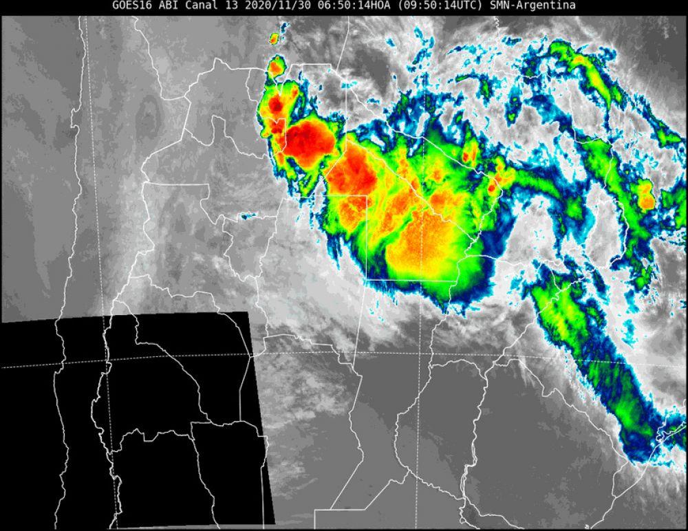Rige alerta por fuertes tormentas para el Norte de Corrientes