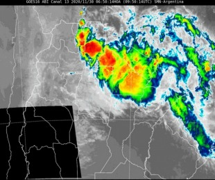 foto: Rige alerta por fuertes tormentas para el Norte de Corrientes