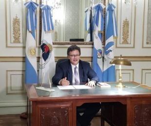 foto: Rey Vazquez reelecto Presidente del Superior Tribunal de Justicia