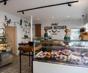 foto: Inauguran carnicería vegana en Londres y se acaba todo en sólo unas horas