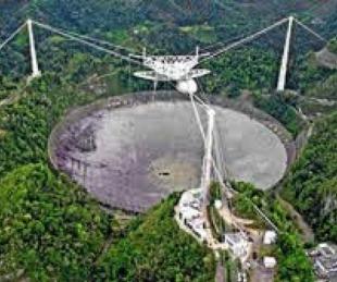 foto: Colapsó el histórico radiotelescopio de Arecibo en Puerto Rico