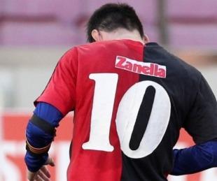 foto: Messi fue multado por el homenaje a Maradona