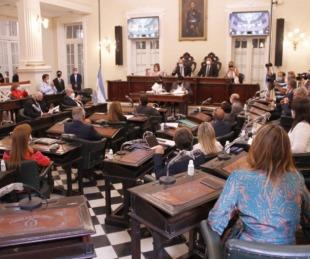 foto: Rivas Piasentini y los legisladores analizarán el Presupuesto 2021