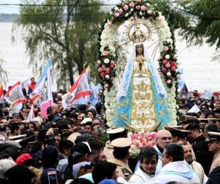 foto: El Municipio de Itatí suspendió las peregrinaciones hacia la Basílica