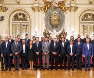 foto: Pacto fiscal: El Presidente recibirá a los gobernadores el viernes
