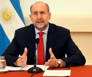 foto: El gobernador de Santa Fe Omar Perotti contó que tiene coronavirus