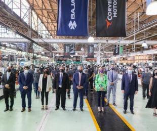 foto: El Presidente participó del anuncio de inversiones de Corven Motors