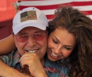 foto: El costoso regalo que Thalía recibió por su aniversario con Tommy Mottola
