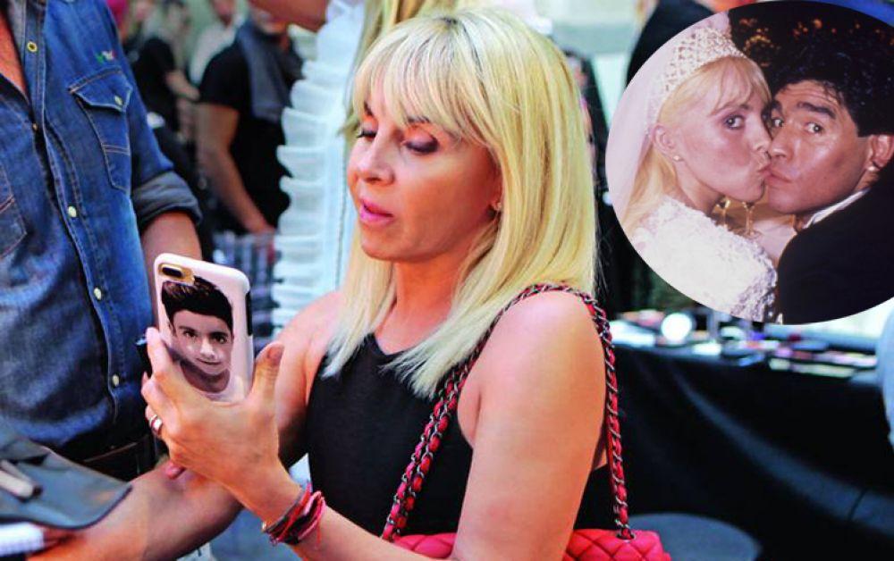 La conmovedora foto de perfil de Claudia en su Whatsapp tras la muerte de Maradona
