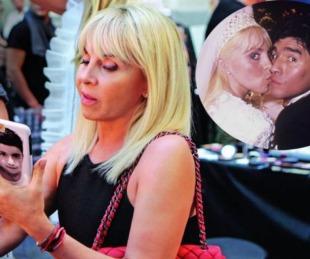 foto: La conmovedora foto de perfil de Claudia en su Whatsapp tras la muerte de Maradona