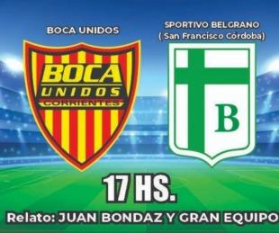 foto: Vuelve Boca Unidos y lo vas a vivir por Sudamericana y 5TV