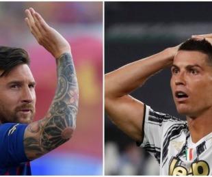 foto: A qué hora se enfrentarán mañana Messi y Cristiano por Champions