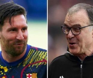 foto: Messi y Bielsa fueron nominados para ganar el premio