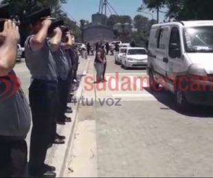 foto: Emotivo video: Despidieron con honores los restos del Cabo Rea