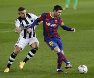 foto: Con gol de Messi, Barcelona derrotó a Levante y evitó otra decepción