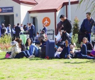 foto: Qué dijo Macri del vaciamiento del aeropuerto de El Palomar