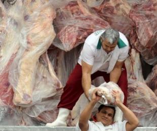 foto: Robaron la recaudación a un camión mientras descargaban carne