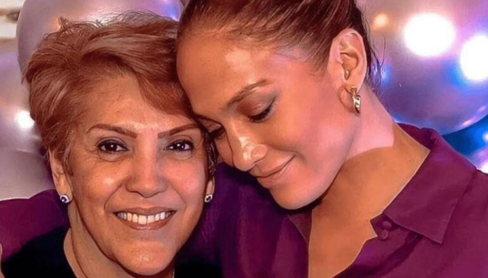 Jennifer Lopez sorprendió a su mamá con una espectacular fiesta de cumpleaños