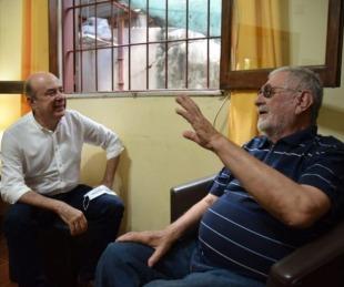 foto: Cacho González Vedoya y Canteros celebraron la declaración del Chamamé