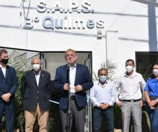 foto: SAPS del barrio Quilmes: a nuevo y al servicio de los vecinos