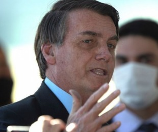 foto: Bolsonaro sobre la vacuna: