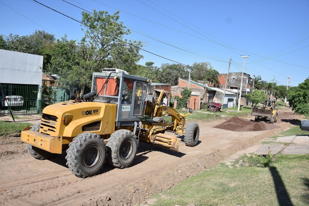 En dos meses, Municipio enripió más de 11 mil metros en 21 barrios