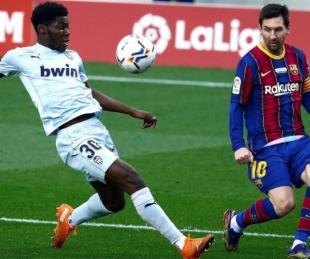 foto: Messi alcanzó un récord de Pelé en el empate del Barcelona