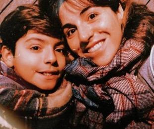 foto: El regalo de Diego Maradona a Benjamín: