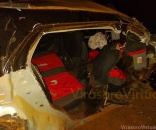 foto: Tres jóvenes murieron tras un violento choque en Virasoro