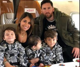 foto: Lionel Messi ya está en Argentina y pasará la Navidad en Rosario