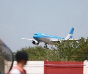 foto: Llegó el vuelo de Aerolíneas Argentinas con vacunas Sputnik V