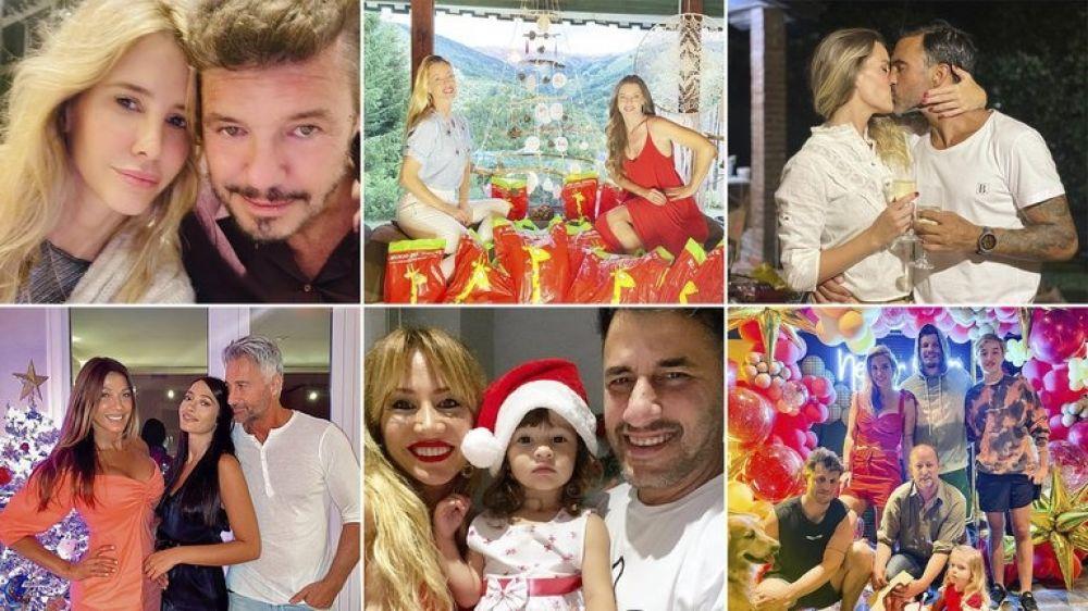 Los mensajes y las fotos de los famosos que festejan Navidad